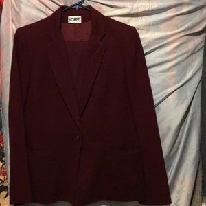 Vintage suit with skirt